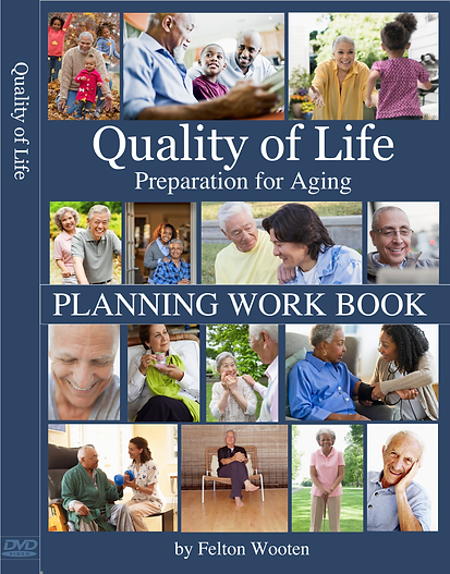 Quality Of Life Eldercare Planning Workbook