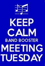 February Band Booster Meeting