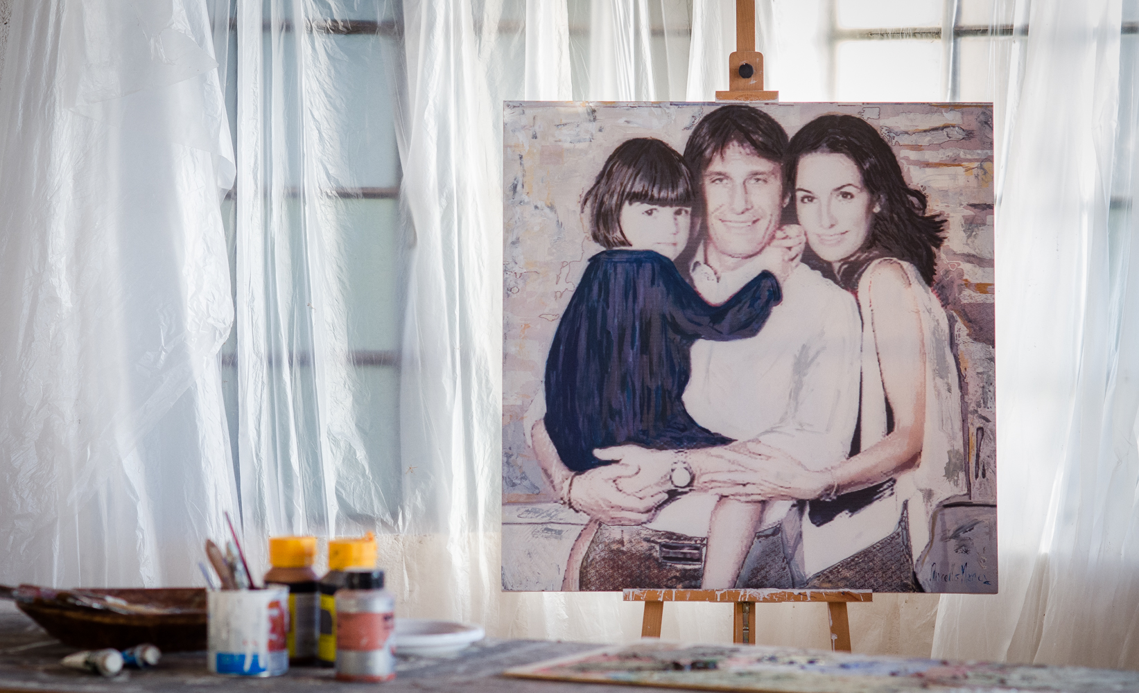 "Antonio Conte ""Family Portrait"""
