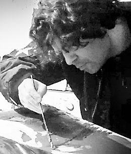 Marcello Manca Painting Portrait
