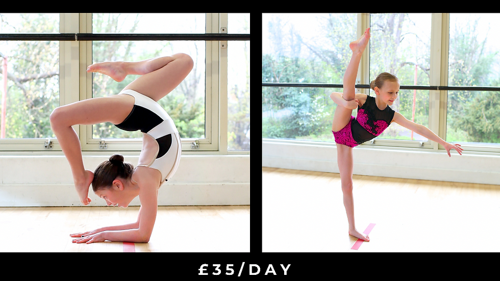 Summer Dance & Acro Camp - Monday 19th July 2021