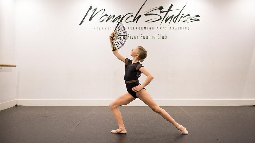 Intermediate Ballet Online - Thursdays 17.45-18.30