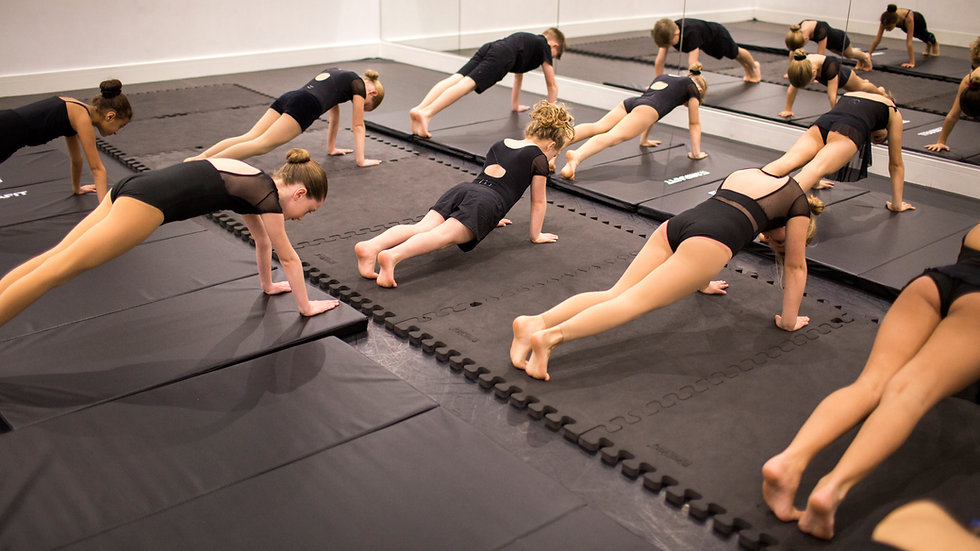 Junior Stretch & Strengthen Online - Wednesdays 18.00-18.45