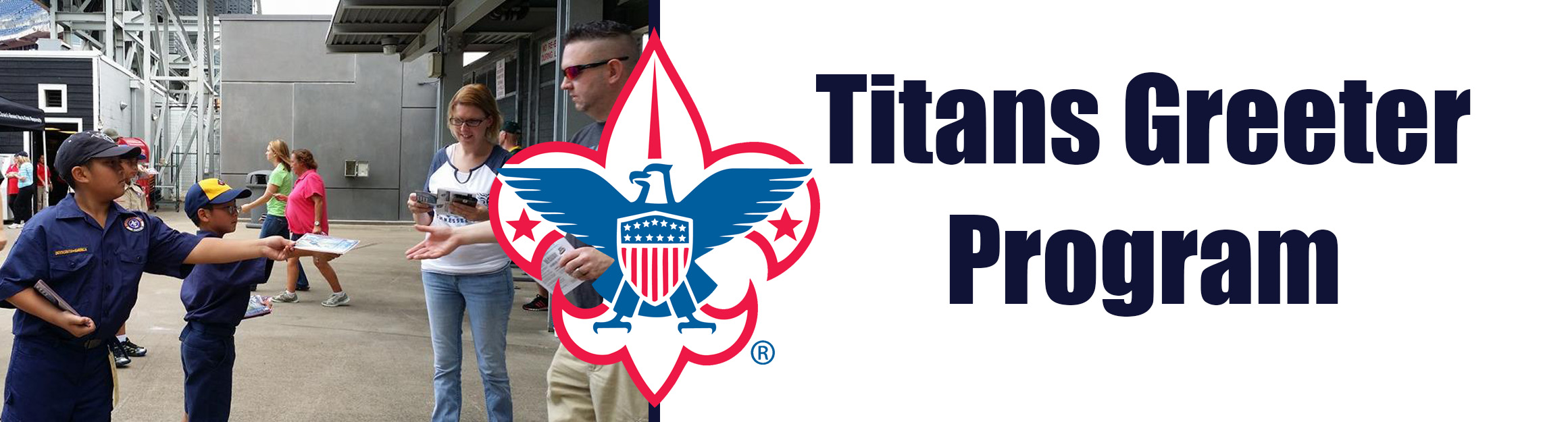 Titans Greeter Program