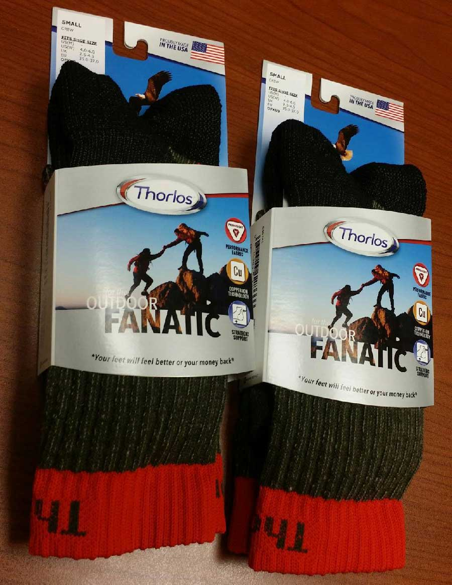 Thorlo Crew Socks - $ 19.99