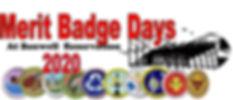 Merit Badge Days at Boxwell 2020 Flier P