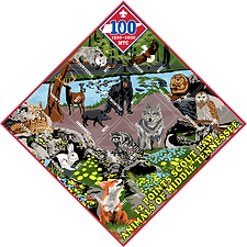 Twelve Points of the Scout Law Patch Set