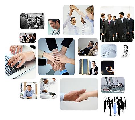 Figure di persone al lavoro