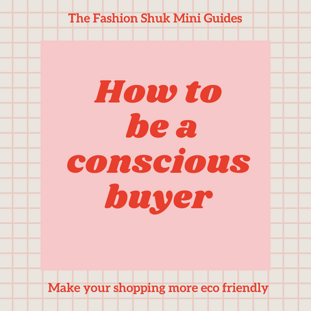 The Fashion Shuk Mini Guides #3