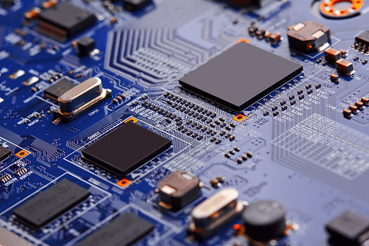 Electronic circuit board close up..jpg