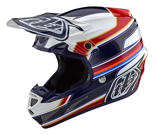Troy Lee Designs 2021 SE4 Composite Speed White/Red