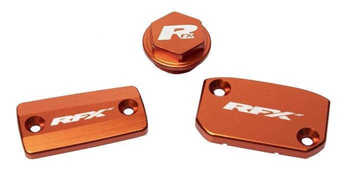 RFX Pro Res Cap Kit (Orange) KTM SX/SXF 14-20 (Brembo Brake and Magura Clutch)