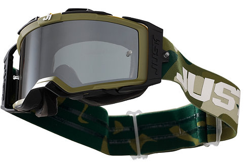 Just1 Nerve Goggle Absolute Camouflage With Mirror Silver Lens