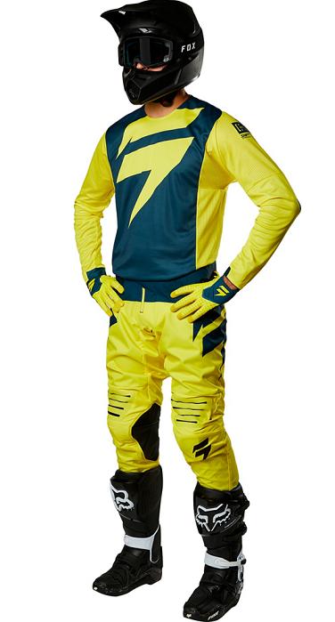Shift Black Label Mainline Yellow/Navy Gear Set