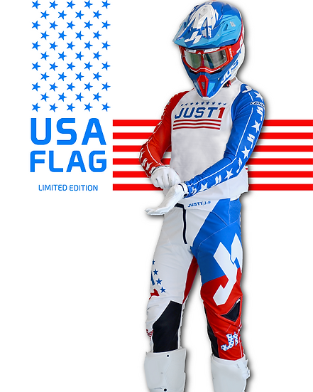 Just1 J-Flex USA Flag Kit Red/White/Blue