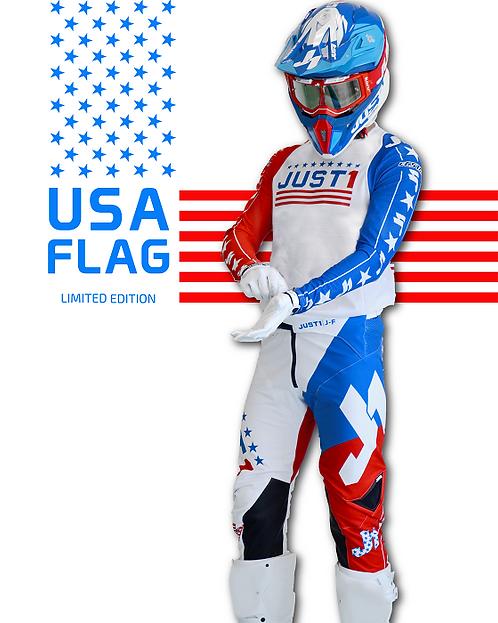 Just1 J-Flex USA Flag Kit Red/White/Blue