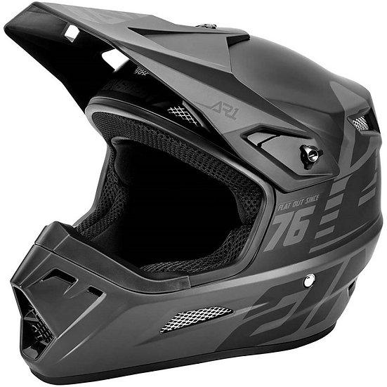 Answer 2021 AR1 Helmet Bold Matte Black/Tar