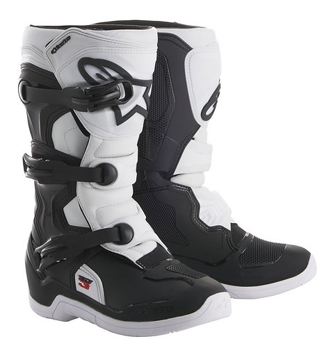 ALPINESTARS TECH 3S KIDS BOOT BLACK/WHITE