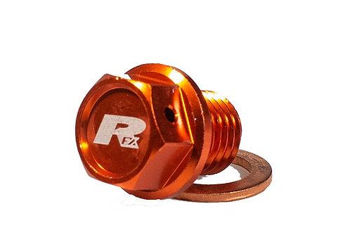 RFX KTM Orange Magnetic Oil Drain Bolt
