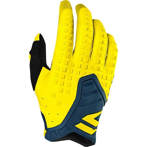 Shift 19 Black Pro Gloves Yellow/Navy Medium LAST PAIR