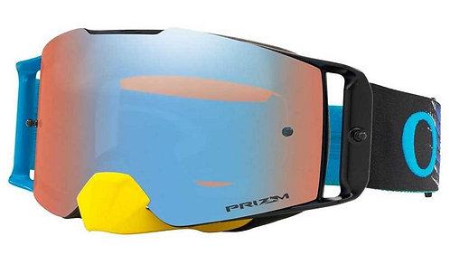 Oakley Frontline Goggle Dissolve Yellow Blue Prizm Dapphire Iridium Len