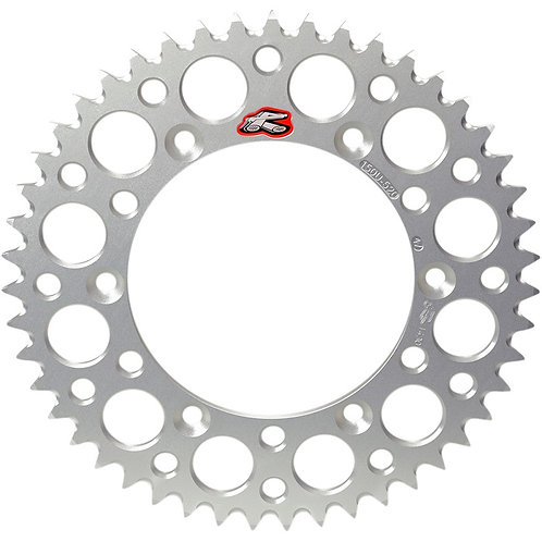 Renthal Yamaha YZ125-465 80-98 Rear Sprocket Silver
