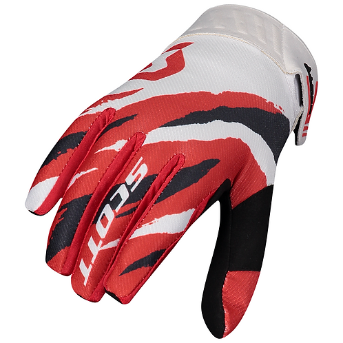Scott 2021 450 Prospect Glove Red/White