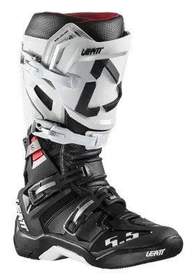 Leatt GPX 5.5 Flexlock Boot White/Black