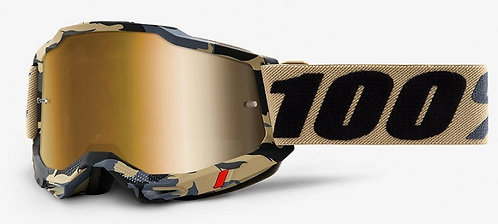 100% Accuri 2 Tarmac  Goggle True Gold Lens