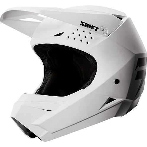 Shift Youth White Label Helmet White Medium