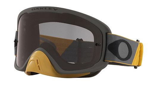 Oakley O Frame 2.0 Pro Goggle (Tuff Blocks Gunmetal/Gold) Dark Grey Lens