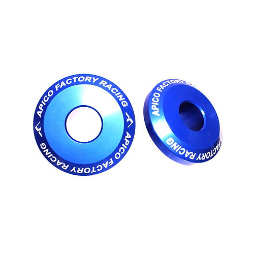 Apico Rear Wheel Spacers Pro TC/FC 125-450 14-15 TC85 14-21 Blue