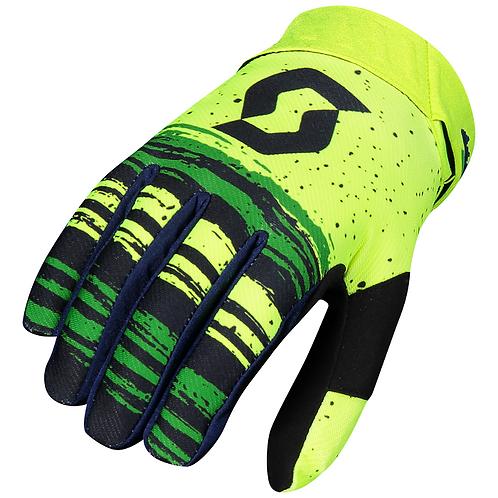Scott 2021 450 Noise Glove Blue/Yellow