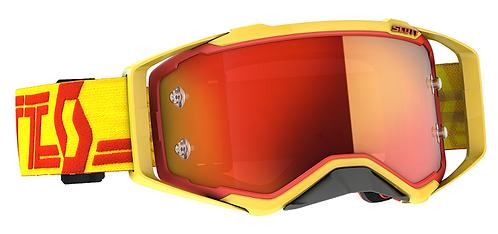 Scott 2021 Prospect Goggle Yellow/Red With Orange Chrome Lens