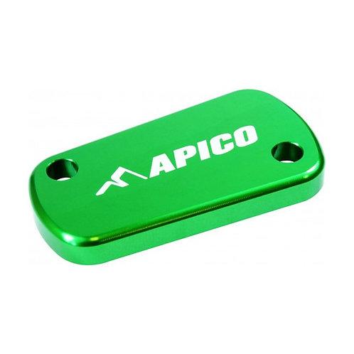 Apico Kawasaki KX125-450F 03-20 Green Rear Brake Reservoir Cover