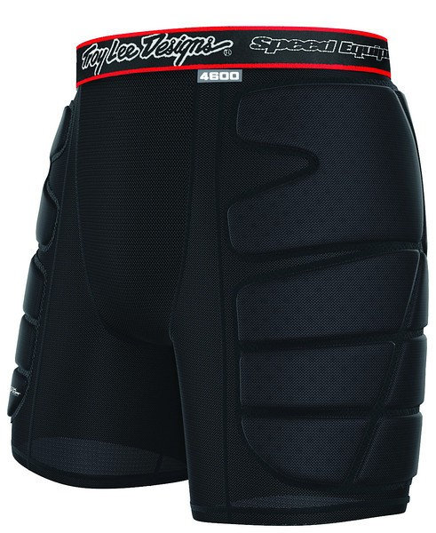 TLD/SHOCK DOCTOR LPS4600 HW SHORTS BLACK