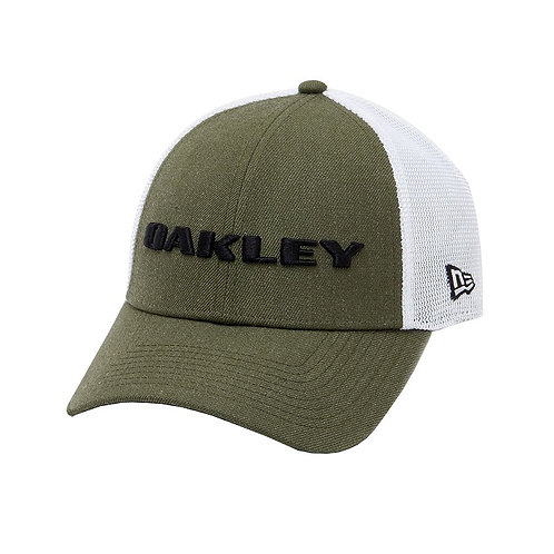 Oakley New Era Hat Heather Dark Brush Snap Back