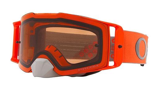 Oakley Front Line Goggle (Heritage B1B Orange/Gunmetal) Prizm MX Bronze Lens
