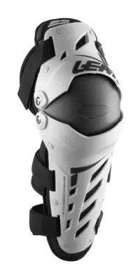 Leatt Dual Axis Knee Guard White/Black