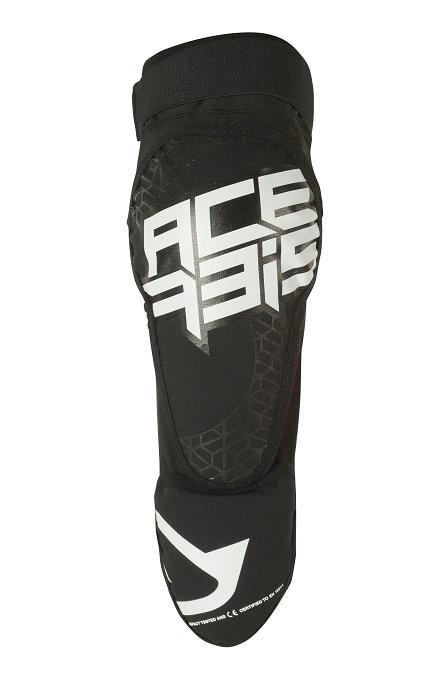 Acerbis X-Zip Knee Guards Black