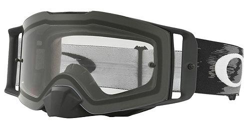 Oakley Front Line MX Goggle (Matte Black Speed) Clear Lens
