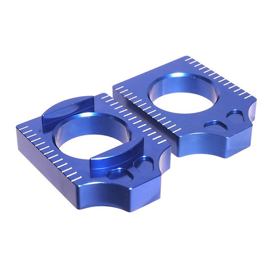 Apico Yamaha YZF250/450 14-21 Blue Axle Blocks