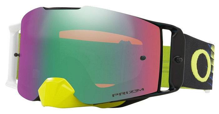 Oakley Front Line Goggle (Dissolve Green/Blue) Prizm Jade Irdium Lens