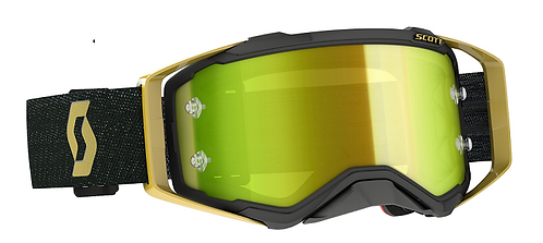 Scott 2020 Prospect Goggle Black/Gold With Yellow Chrome Lens