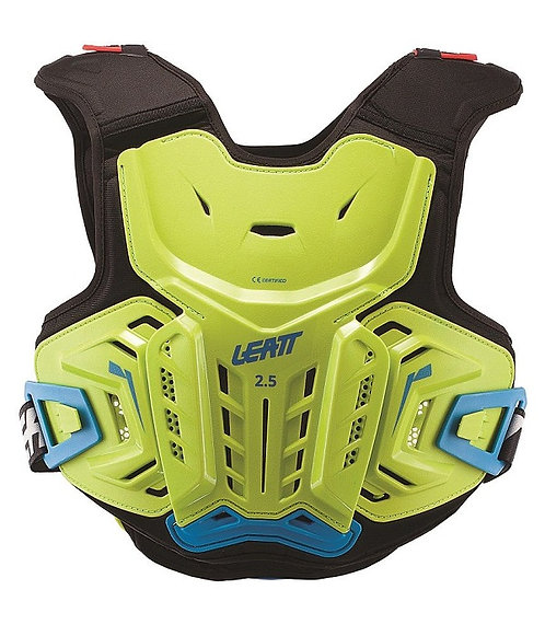 Leatt 2.5 Chest Protector Lime Blue Youth