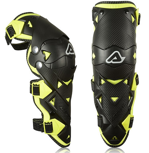 Acerbis Impact Evo 3.0 Knee Guards Black/Yellow