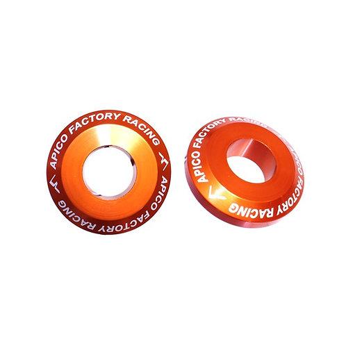 Apico Rear Wheel Spacers Pro SX-SXF 125-450 13-20 Orange