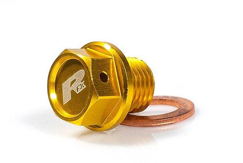 RFX Suzuki Yellow Magnetic Oil Drain Bolt