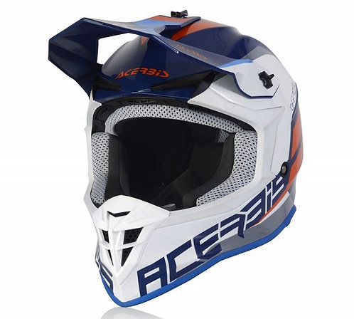 Acerbis 2021 Linear Helmet Blue/White
