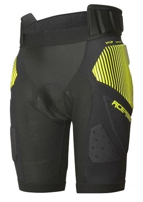Acerbis Soft Brush Padded Under Pants Black/Yellow